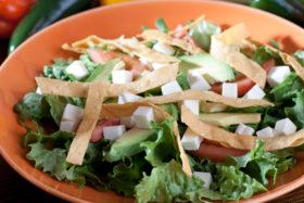 Rancho Salad-El Jefe Restaurant & Mexican Grill, Newark, Delaware