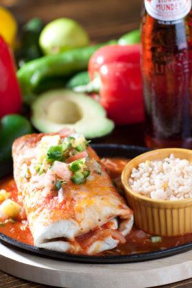 Shrimp Burrito-El Jefe Restaurant & Mexican Grill, Newark, Delaware