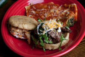 Combo (Mexican Antojitos)-El Jefe Restaurant & Mexican Grill, Newark, Delaware