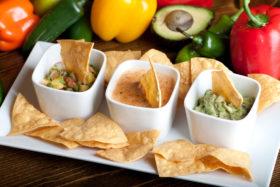 Dip Sampler Mexicano-El Jefe Restaurant & Mexican Grill, Newark, Delaware