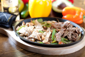 Chicken & Steak Fajitas-El Jefe Restaurant & Mexican Grill, Newark, Delaware