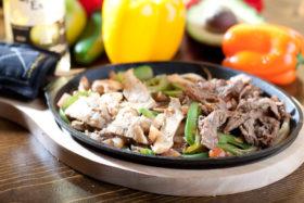 Chicken & Steak Fajitas-El Jefe Restaurant & Mexican Grill, Newark, Delaware