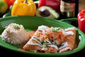 Seafood Enchiladas-El Jefe Restaurant & Mexican Grill, Newark, Delaware