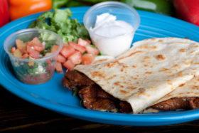 Pork Quesadilla-El Jefe Restaurant & Mexican Grill, Newark, Delaware