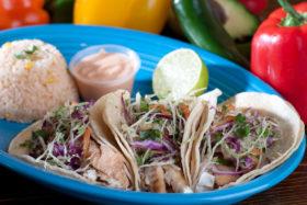 Fish Tilapia Tacos-El Jefe Restaurant & Mexican Grill, Newark, Delaware