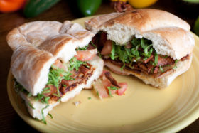 Roast Pork Meat Torta-El Jefe Restaurant & Mexican Grill, Newark, Delaware