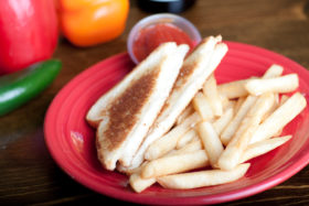 Grilled Cheese-El Jefe Restaurant & Mexican Grill, Newark, Delaware