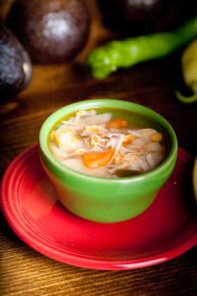 Chicken Rice Soup -El Jefe Restaurant & Mexican Grill, Newark, Delaware