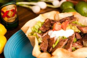 Steak Taco Salad -El Jefe Restaurant & Mexican Grill, Newark, Delaware