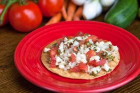 Fish Tostada -El Jefe Restaurant & Mexican Grill, Newark, Delaware