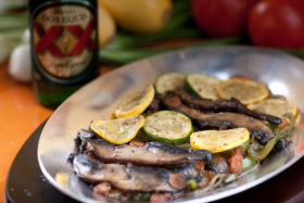 Portobello Fajitas -El Jefe Restaurant & Mexican Grill, Newark, Delaware