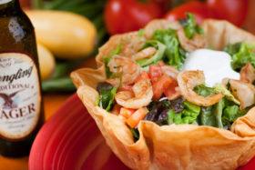 Shrimp Taco Salad -El Jefe Restaurant & Mexican Grill, Newark, Delaware