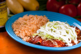 Lunch Enchiladas -El Jefe Restaurant & Mexican Grill, Newark, Delaware