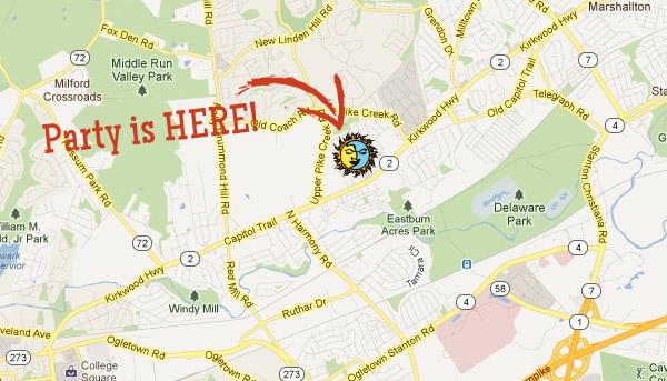 Map to El Jefe Restaurant